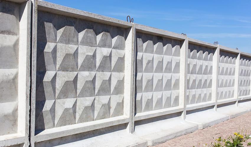 бетонный забор в Казани